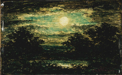 Ralph Albert Blakelock, 'Moonlight', Between 1885-95