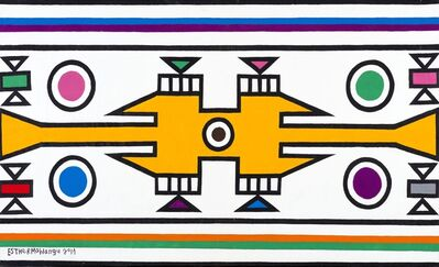 Esther Mahlangu, 'Ndebele Abstract - C001274', 2011