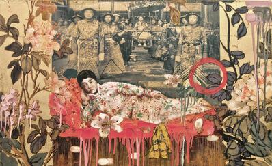 Hung Liu 刘虹, 'Imperial Garden Study II', 2014