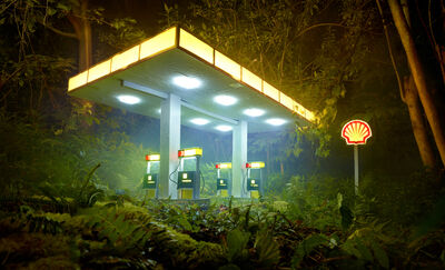 David LaChapelle, 'Gas Shell', 2012
