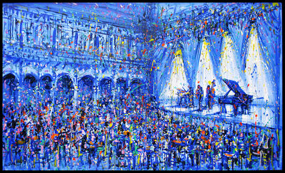 Jazzamoart, 'Jam en el salón de Monet', 2015