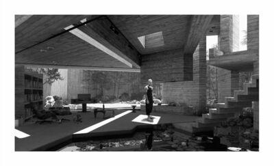 Hans Op de Beeck, 'Room (10)', 2017
