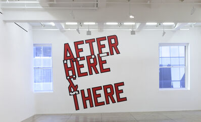 Lawrence Weiner, 'AFTER HERE & THERE', 2014