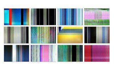 Penelope Umbrico, 'Grid of 12 in book_sRGB-72dpi from Broken Sets (eBay)', 2009-2011