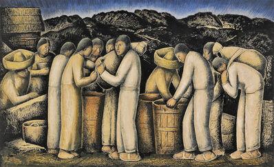 Alfredo Ramos Martínez, 'Los Pulqueros', ca. 1935