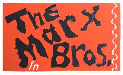 Jess, 'The Marx Bros. in'