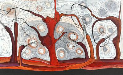 Helen McCarthy Tyalmuty, 'Marrawuk Burnoff', ca. 2015
