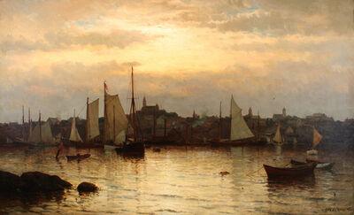 Mauritz Frederik Hendrik de Haas, 'Gloucester Harbor', ca. 1870s–1880s