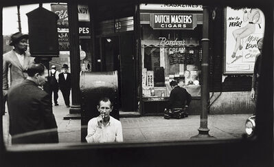 Art Shay, 'Sunday Morning on Madison Street', 1950-Printed in the 90's