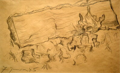 Pablo Picasso, 'Fireplace Study', 1945