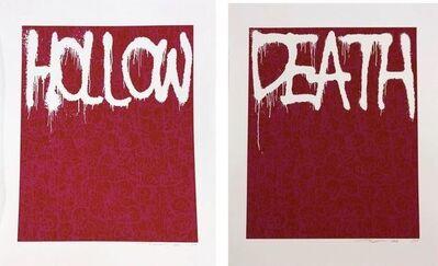 Takashi Murakami, 'Hollow Red - Death Red ', 2018