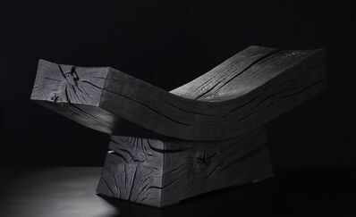 Jim Partridge & Liz Walmsley, 'Scorched Bench', 2019