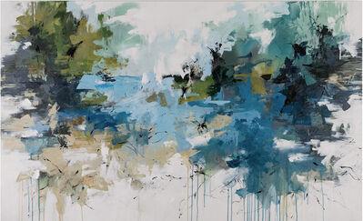 Carlos Ramirez, 'Swimmng in the Lagoon- Cape Florida'