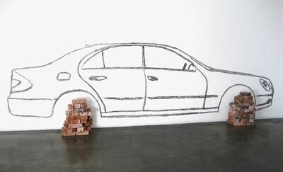 Robin Rhode, 'Car on Bricks', 2008