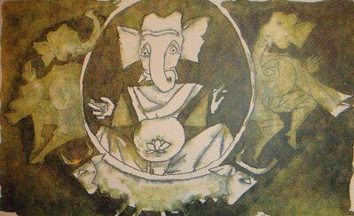 M. F. Husain, 'Untitled ', Edition: Ap