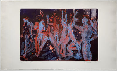 Rainer Fetting, 'Shower', 1989