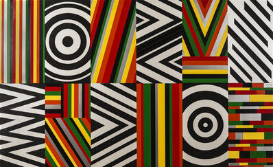 Rico Gatson, 'Untitled (Target, Ripples and Zig Zag)', 2016