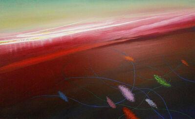 Don Ahn, 'Green Sky', 1998