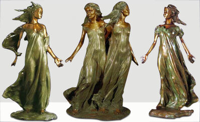 Frederick Hart, 'Daughters of Odessa (3/4 Life-scale Trilogy)', 1997