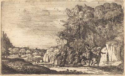 Claude Lorrain, 'The Flight into Egypt (La fuite en Egypte)', ca. 1630/1633