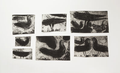 Miriam Cahn, 'L.I.S. die vögel, die mich heute morgen riefen, 23.9.87', 1987