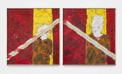 Lwando Dlamini, 'Untitled Portrait III (Diptych)', 2019-2020