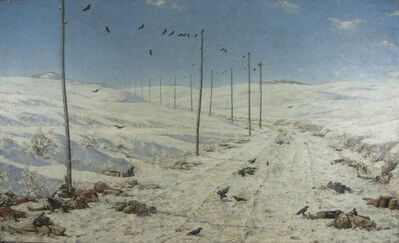 Vasily Vereshchagin, 'The Road of the War Prisoners', 1878-1879