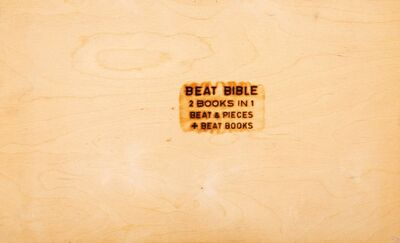 Allen Ginsberg, 'Beat Bible', 2007