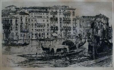 Frank Duveneck, 'Grand Canal, Venice', 1883
