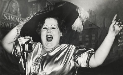 Weegee, 'Norma Devine is Sammy's Mae West', 1944