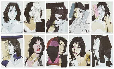 After Andy Warhol, 'Mick Jagger Postcards', 1975