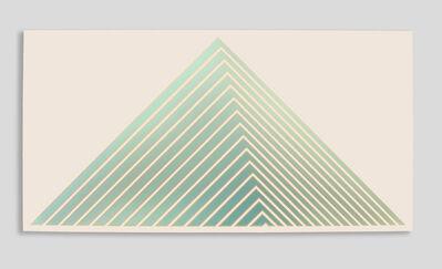 Tess Jaray RA, 'Green Pyramid', 1987