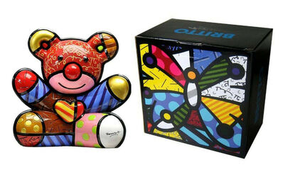Romero Britto, 'LOVE BEAR', 2008