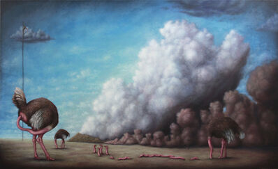 Bruno Pontiroli, 'La politique de l'autruche', 2012