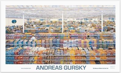 Andreas Gursky, '99 Cent Store', 1999