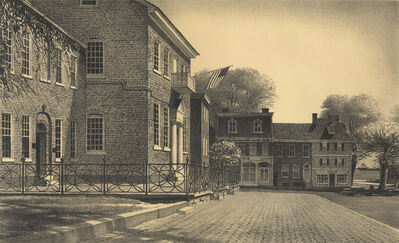 Stow Wengenroth, 'Courthouse, New Castle (Delaware)', 1963