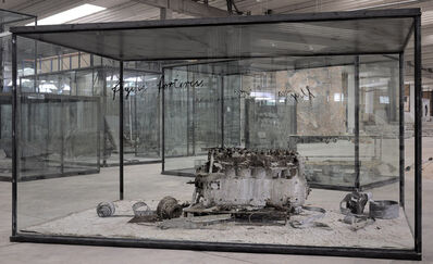 Anselm Kiefer, 'Flying Fortress', 2010