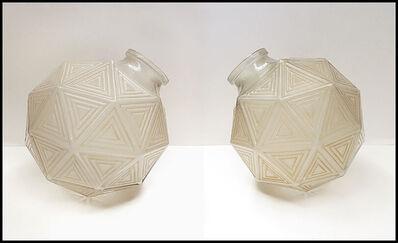 René Lalique, 'Rene Lalique Glass Nanking Plafonniers Vase ', Early 20th Century