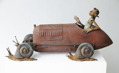 Dirk De Keyzer, 'Es Car Go', 2018