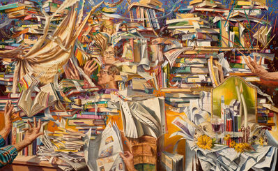 Paul Gorka, 'Reading Upwards', 2005