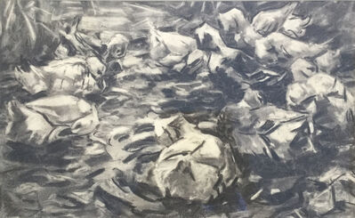 "Alexander Max Koester, '""Entengruppe in bewegtem Wasser""', Early 20th Century"