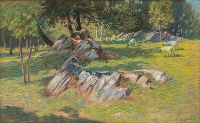 Alexander Van Laer, 'Sheep Pasture'