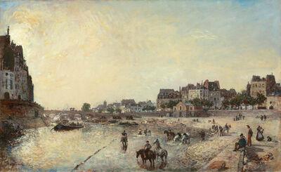 Johan Barthold Jongkind, 'Le Quai des Célestins', 1869