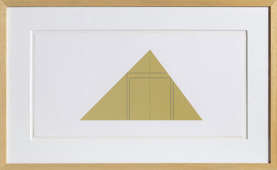 Robert Mangold, 'untitled from Book of Silk Screen Prints: Multiple Panel Paintings 1973-1976', 1988