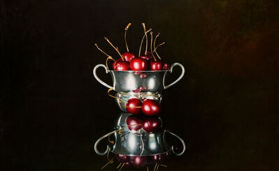 Alexander Sheversky, 'Cherries in a Bowl'