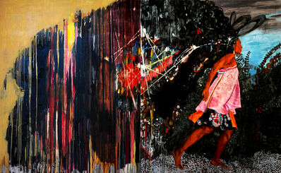 Mequitta Ahuja, 'Parade (diptych)', 2007