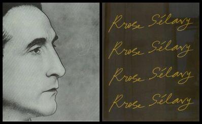 Marcel Duchamp, 'Rrose Sélavy (Marcel Duchamp) in Wilson-Lincoln System (Schwarz, 344)', 1967