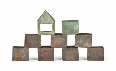Bob Law, 'Two Bronzes, Seven Iron', 1980-1984