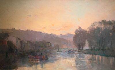 Albert Lebourg, 'La Seine au Bas-Meudon, Soleil Couchant', 1850-1928