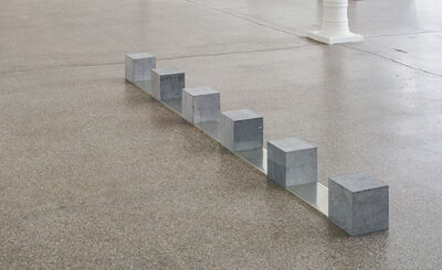 Carl Andre, 'Belgica Tin Train', 1990